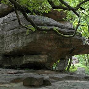 bhimbetka caves - 500k year old civilization