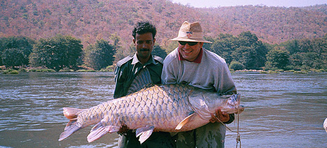 salmon fishing in karnataka -cauvery fishing camp