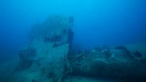 Shipwreck at Chidiya Tapu, Andaman Islands